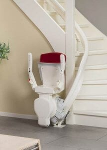 Curved stairlifts West London