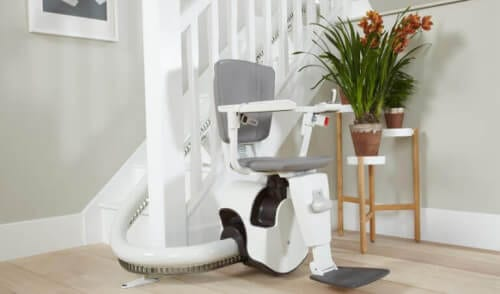 angled stairlifts Hitchin